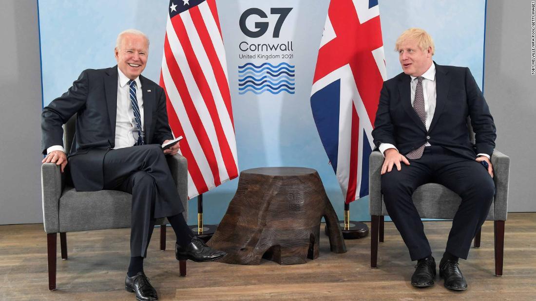 Biden at the G7 summit