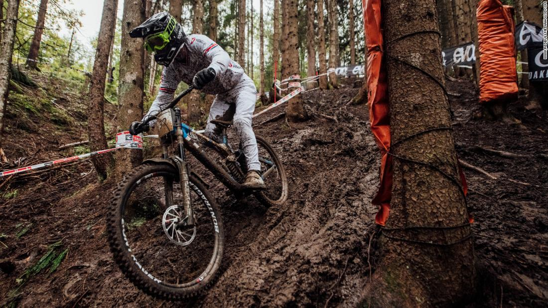 In downhill, you're absolutely 'on the limit', and that's just so exciting to World Champion, Reece Wilson