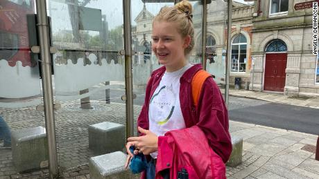 Marta Ričardsa, Redrotas iedzīvotāja, kas tikko pabeidza vidusskolu, nedomā, ka G7 daudz darīs viņas pilsētas labā.