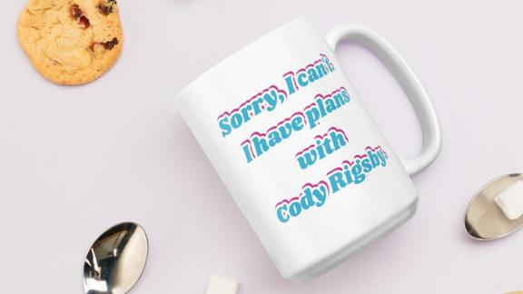 ShopSpinOff Plans With Cody Rigsby Mug