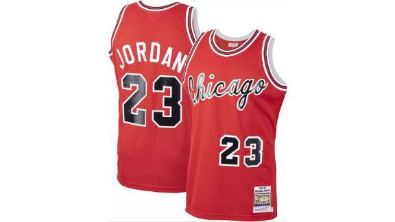 Mitchell & Ness Men's Chicago Bulls Michael Jordan #23 1984-85 Red Jersey