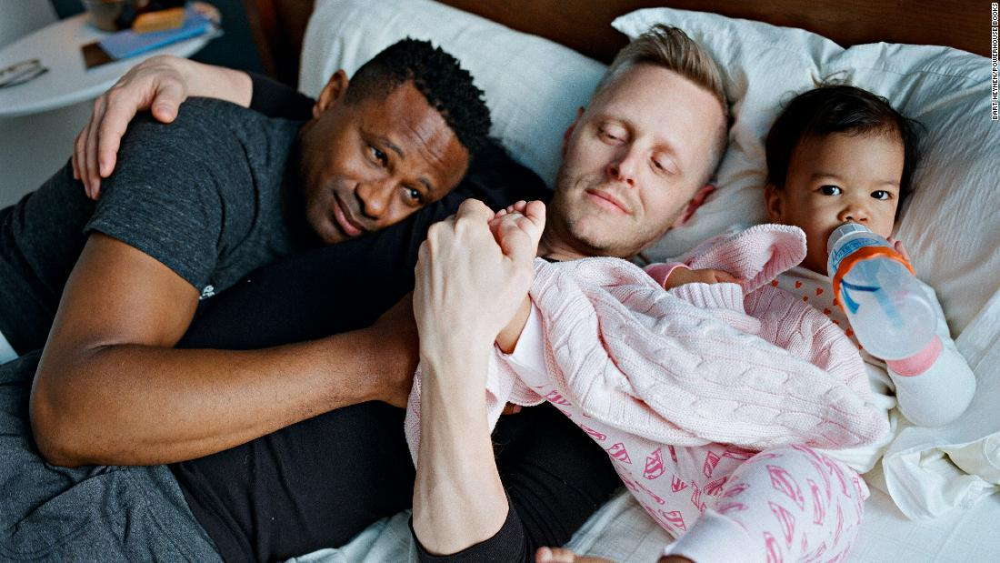 Moving portraits of gay fathers with their families across America
