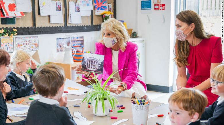 Jill Biden and Kate Middleton: This is what our kids deserve