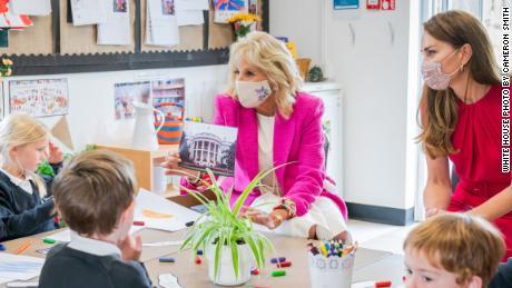 Jill Biden and the Duchess of Cambridge: This is what our kids deserve