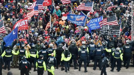 Officer injured in Capitol riot blasts GOP lawmaker's behavior as 'disgusting' after tense exchange