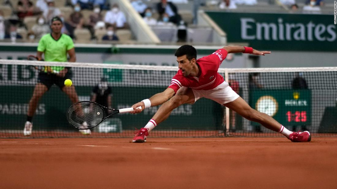 Djokovic: 'My greatest ever match in Paris'