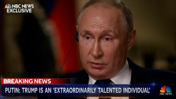 Vladimir Putin NBC intv