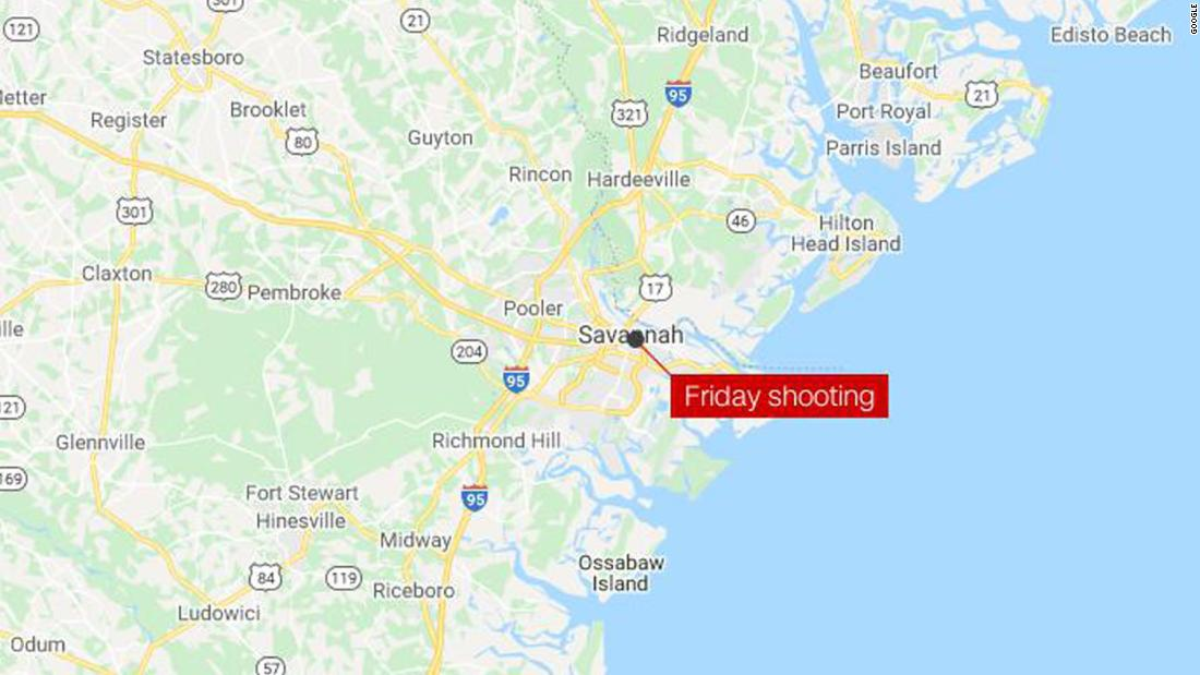 1 killed at least 8 others wounded in shooting in Savannah – CNN