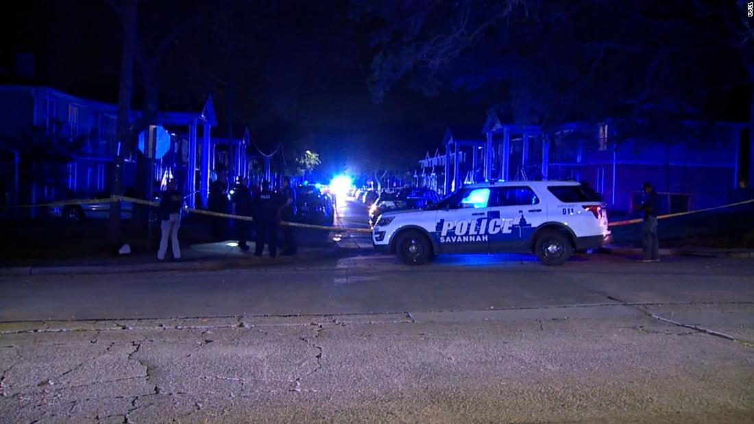 1 killed, 7 others wounded after a shooting in Savannah, police say