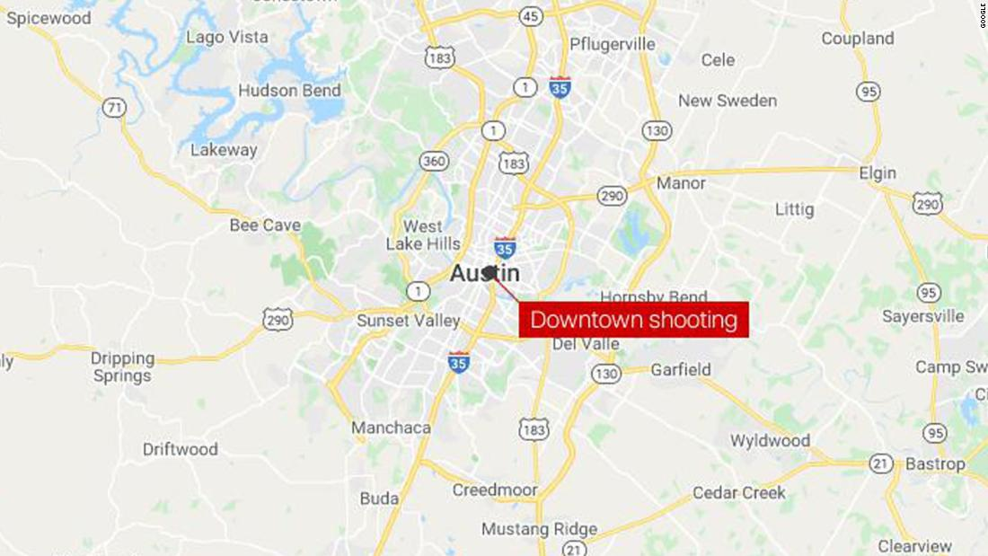 At least 12 people are taken to the hospital following a shooting in downtown Austin authorities say – CNN