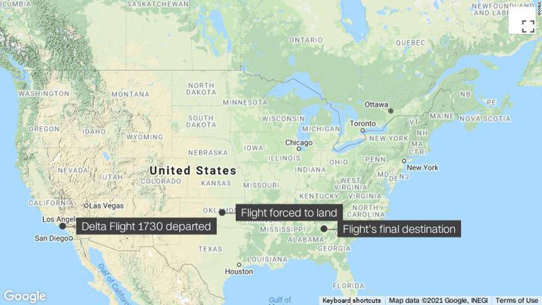Delta passengers and crew subdue unruly passenger on Atlanta-bound flight