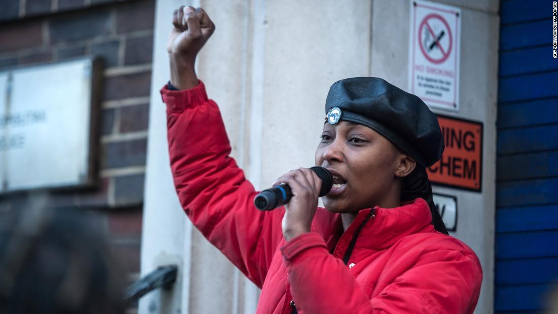 Second man charged in shooting of British Black Lives Matter activist Sasha Johnson