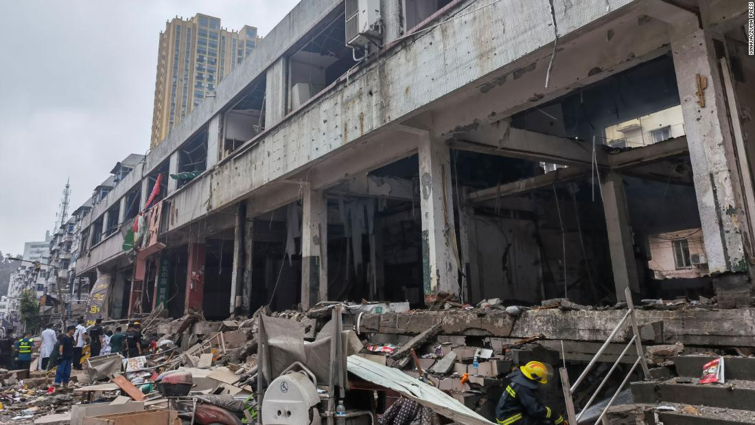 At least 11 killed in huge gas explosion in central Chinese city