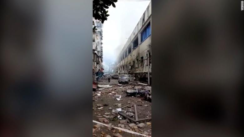 Shiyan city, Hubei province is the epicenter of the blast.