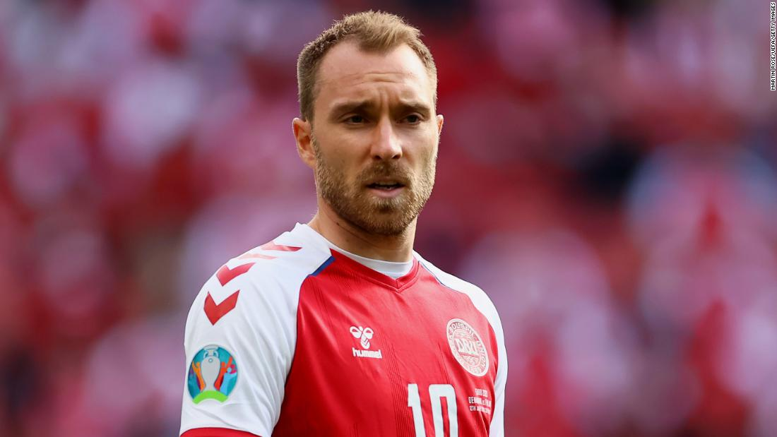 Danish soccer player Christian Eriksen in 'stable' condition Sunday morning, sends greetings to teammates
