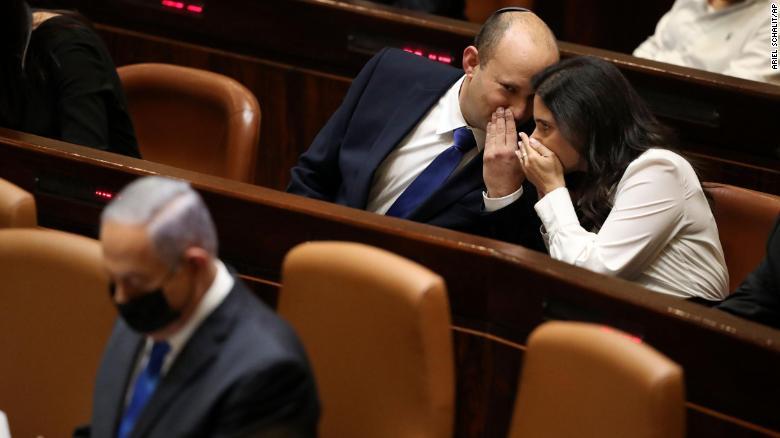 Israel's new prime minister is sworn in, ending Netanyahu's 12-year grip on power