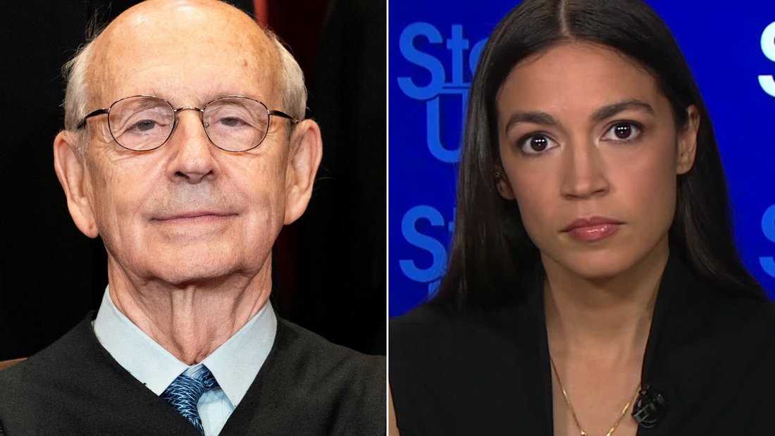 Ocasio-Cortez 'inclined' to agree Justice Breyer should retire