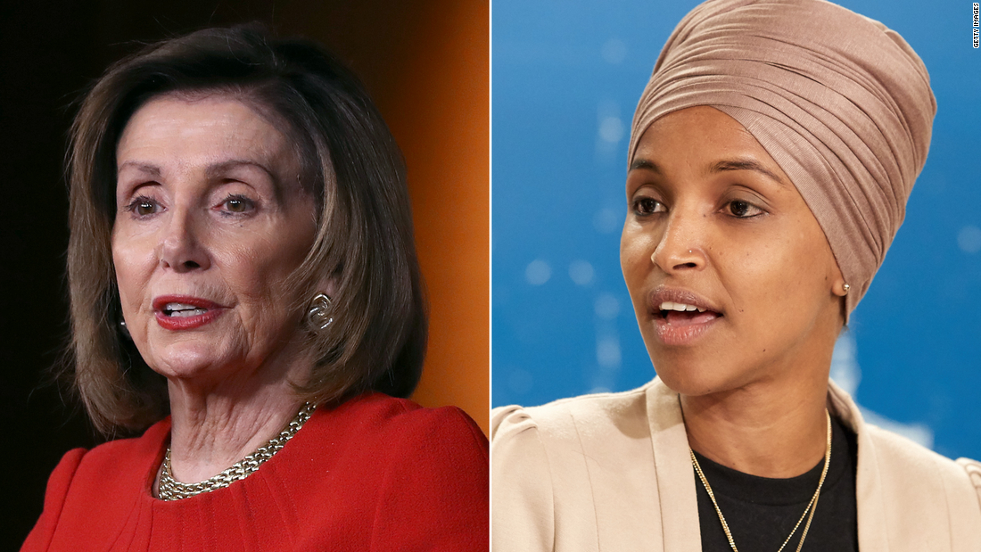 Pelosi says House leadership 'did not rebuke' Omar over comments about US, Israel, Hamas and Taliban