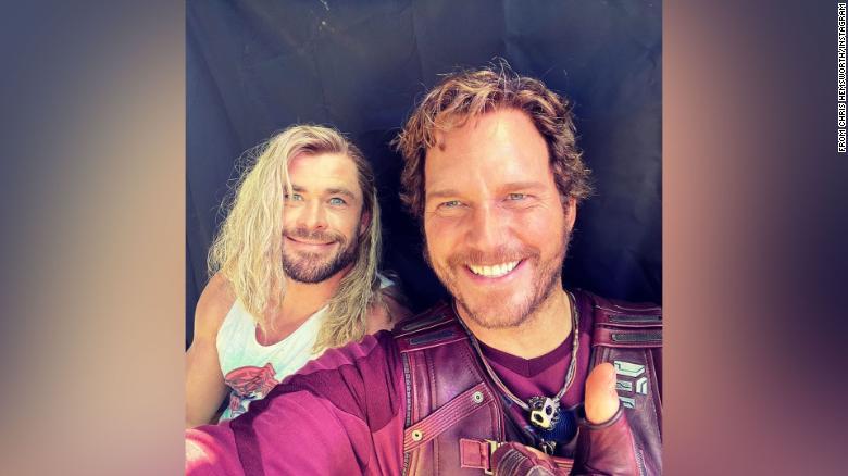 Chris Hemsworth wishes Chris Evans a happy 40th birthday with photo of Chris Pratt