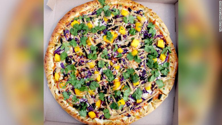 Restaurant tests out pizza topped with cicadas