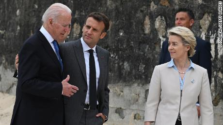 Biden holds first call with French President Macron since diplomatic crisis erupted