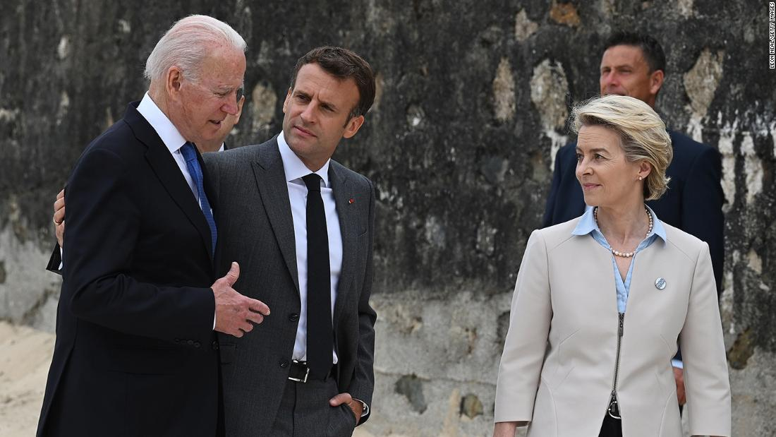 France to return ambassador to US as Biden admits missteps in high-stakes call with Macron
