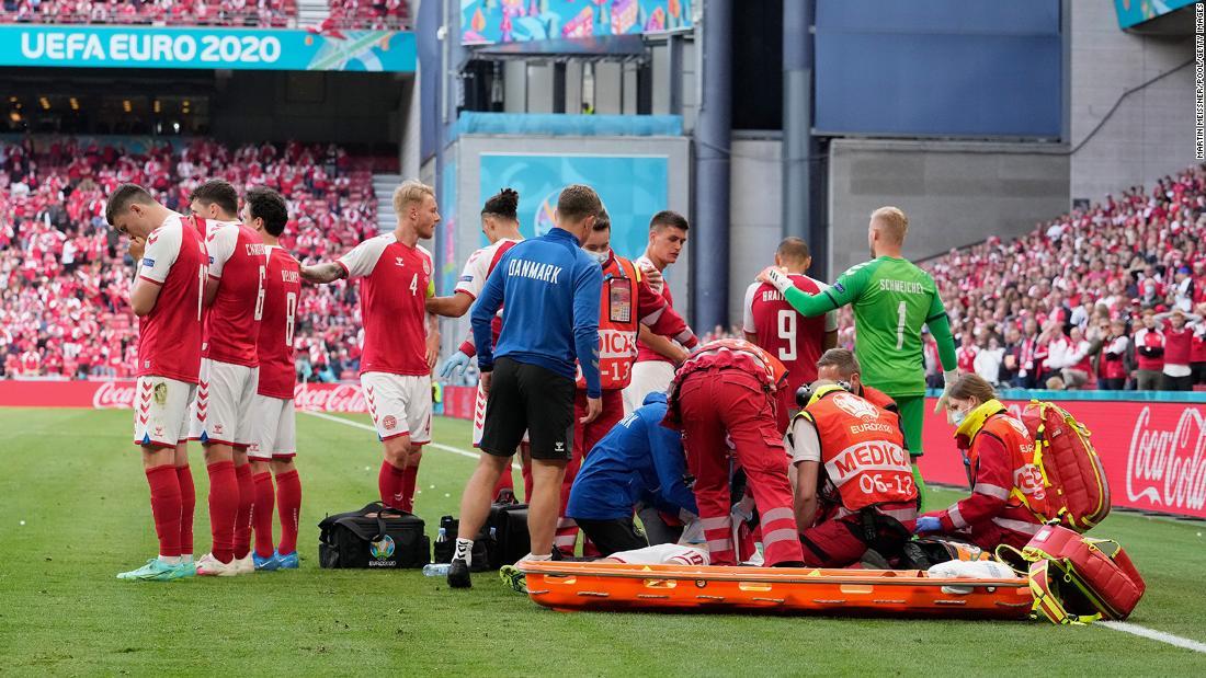 Denmark striker slams UEFA for resuming game following Christian Eriksen's collapse