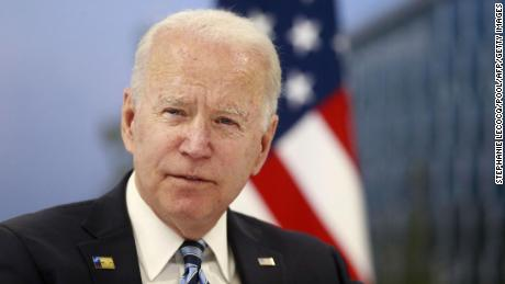 NATO leaders at the top back Biden's decision to withdraw troops from Afghanistan