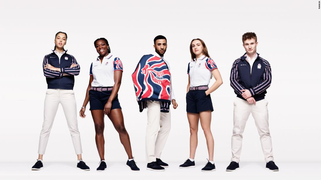 Team GB unveils 2021 Olympic uniform, inspired by the 1960s