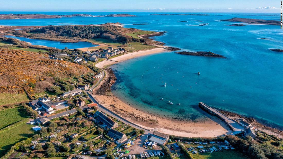 The exotic island paradise off the coast of England