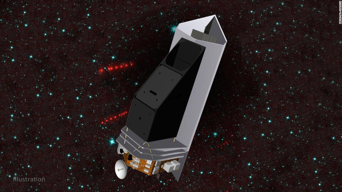 New space telescope could spot potentially hazardous asteroids heading for Earth – CNN