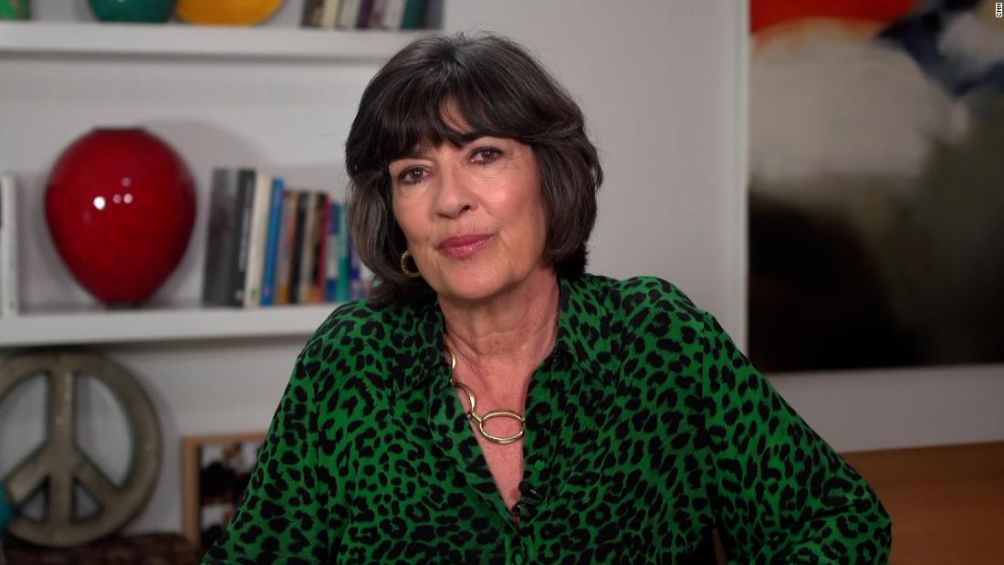 Christiane Amanpour shares cancer diagnosis with viewers - CNN