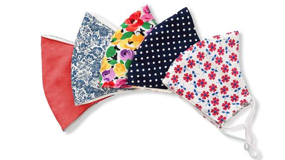 Handmade Cotton Face Masks With Filter Pockets