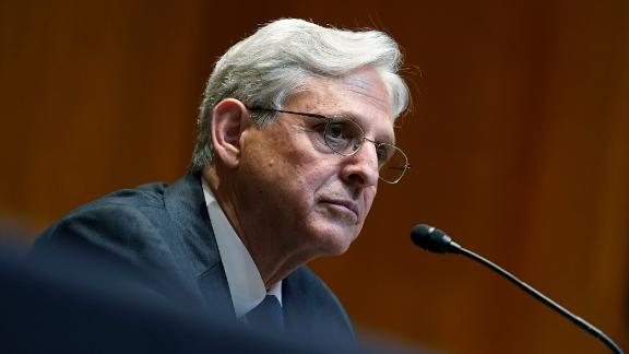 Attorney General Merrick Garland testifies before the Senate Appropriations Subcommittee on Commerce, Justice, Science, and Related Agencies hearing on Capitol Hill in Washington, Wednesday, June 9, 2021. (AP Photo/Susan Walsh, Pool)