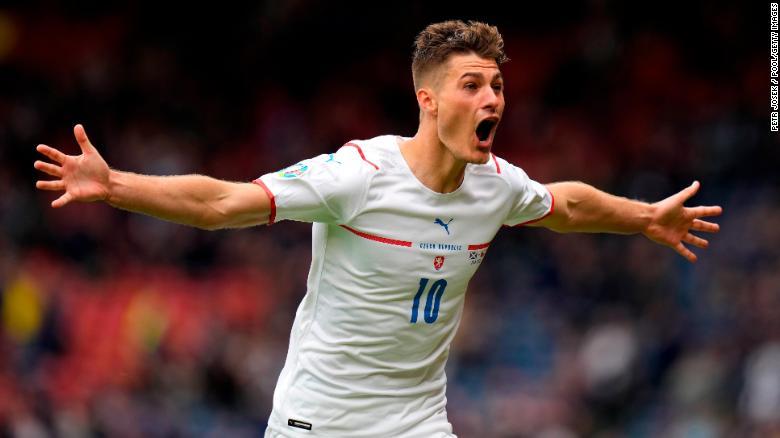 Stunning long range goal lights up Euro 2020 as Czech Republic beats Scotland