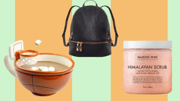 Humble Chic Backpack, MAX'IS Creations Mug and Majestic Pure Himalayan Salt Body Scrub