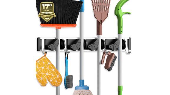 Mop / broom holder wall mount