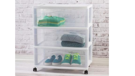Room Essentials shopping trolley with 3 drawers wide