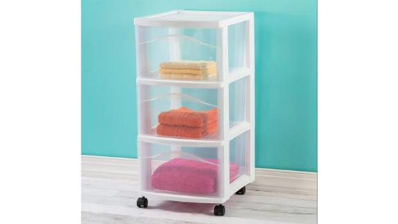 Room Essentials Medium sized trolley with 3 drawers