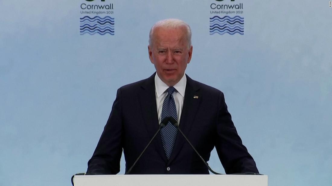 Biden ramps up tougher rhetoric against China at G7
