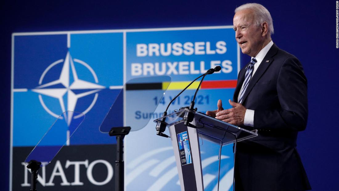 Biden says NATO must protect against 'phony populism' in jab at Trump