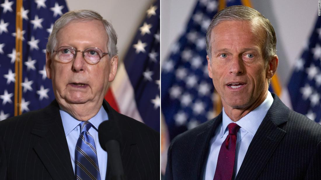 Top Senate Republicans split on need to investigate secret DOJ subpoenas of Democratic lawmakers