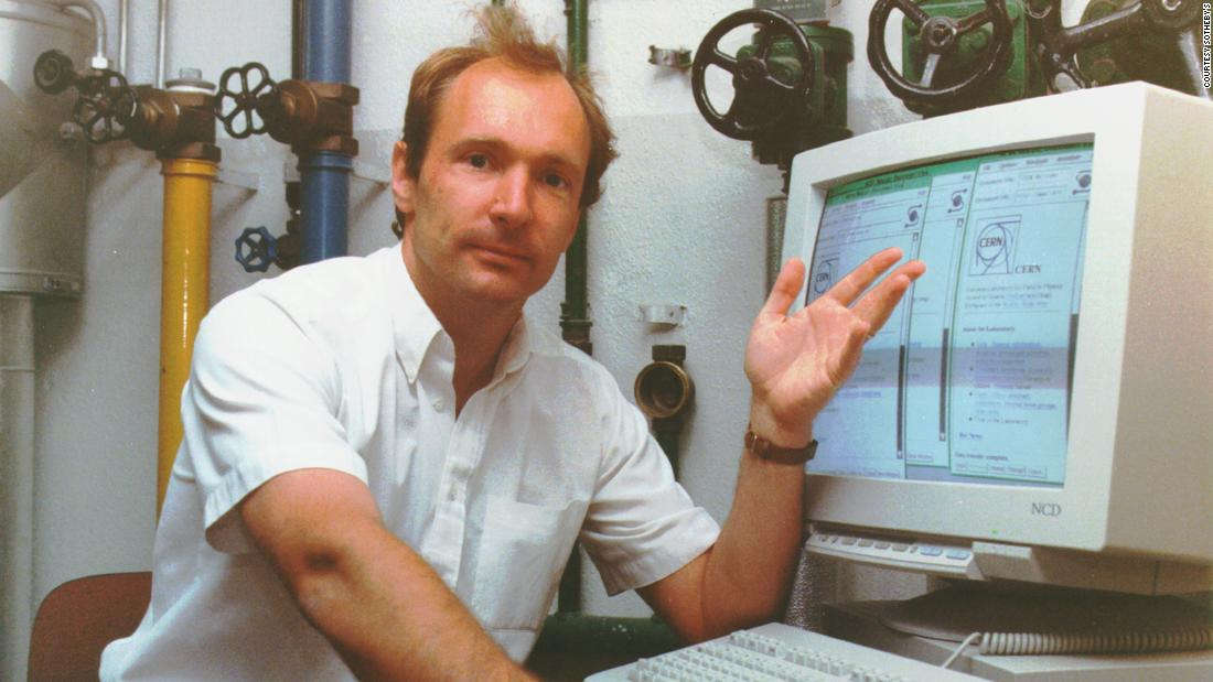 The World Wide Web's inventor is selling its original code as an NFT