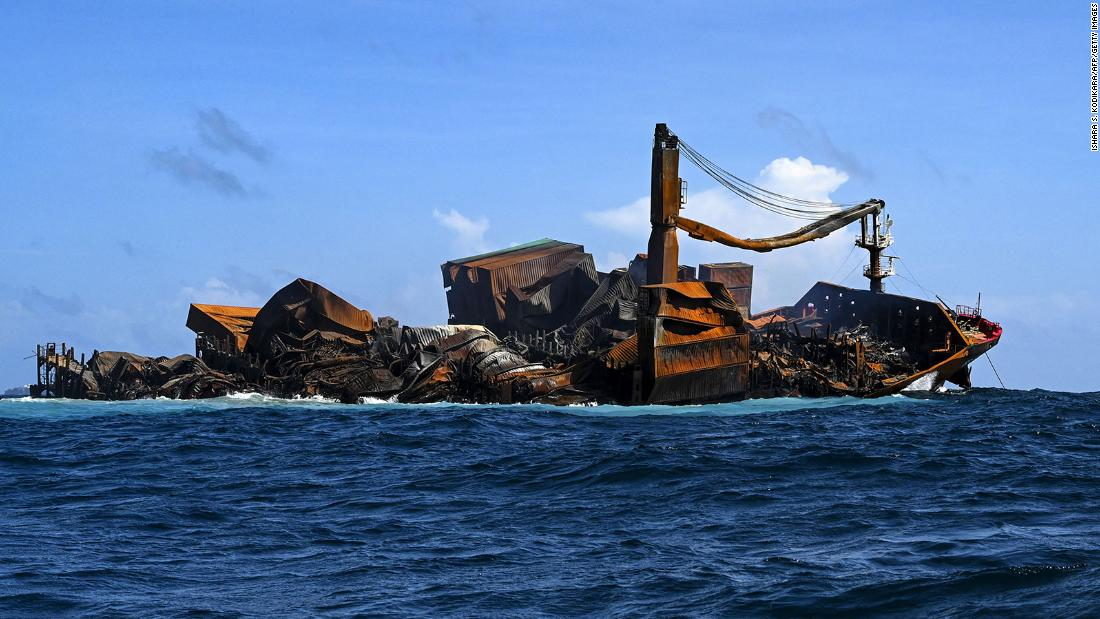 Sri Lanka grants bail to captain of cargo ship embroiled in one of its worst environmental disasters