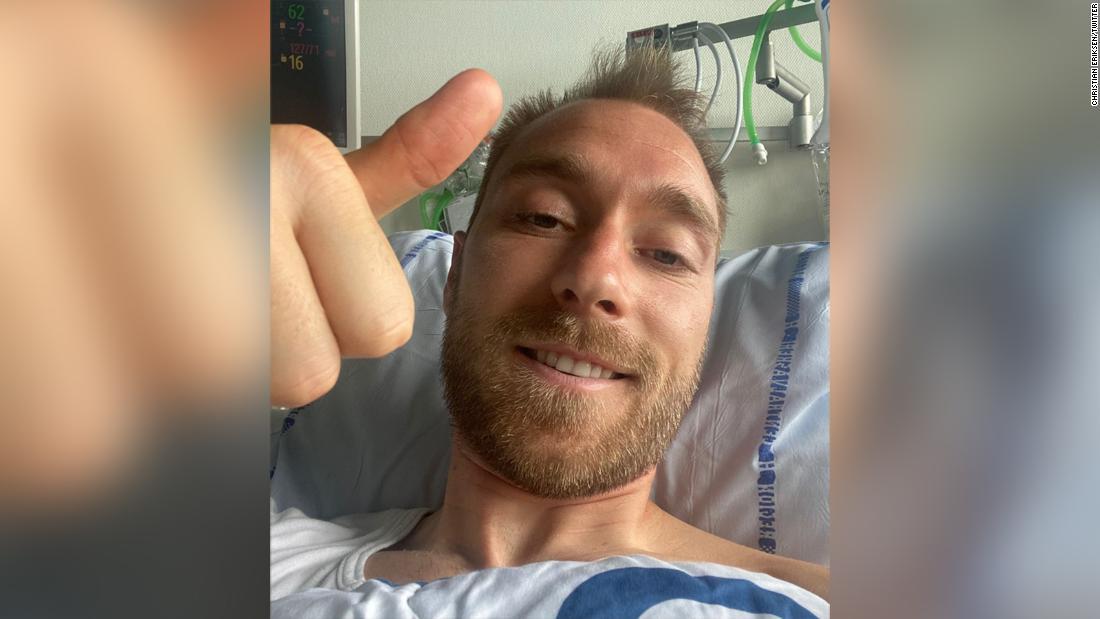 Christian Eriksen thanks well-wishers, says he's feeling 'fine' in first social media post since cardiac arrest