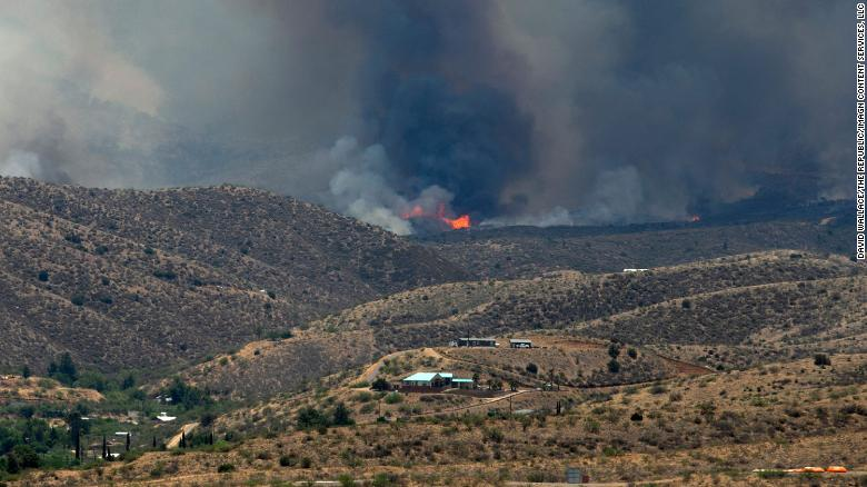 Arizona communities asked to evacuate after Telegraph Fire jumps the containment line