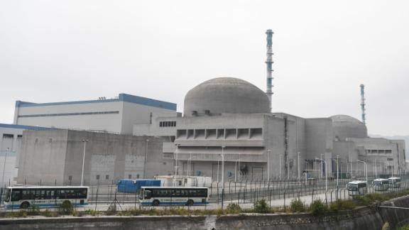 The Taishan Nuclear Power Plant in Guangdong province, China seen on December 20, 2018.