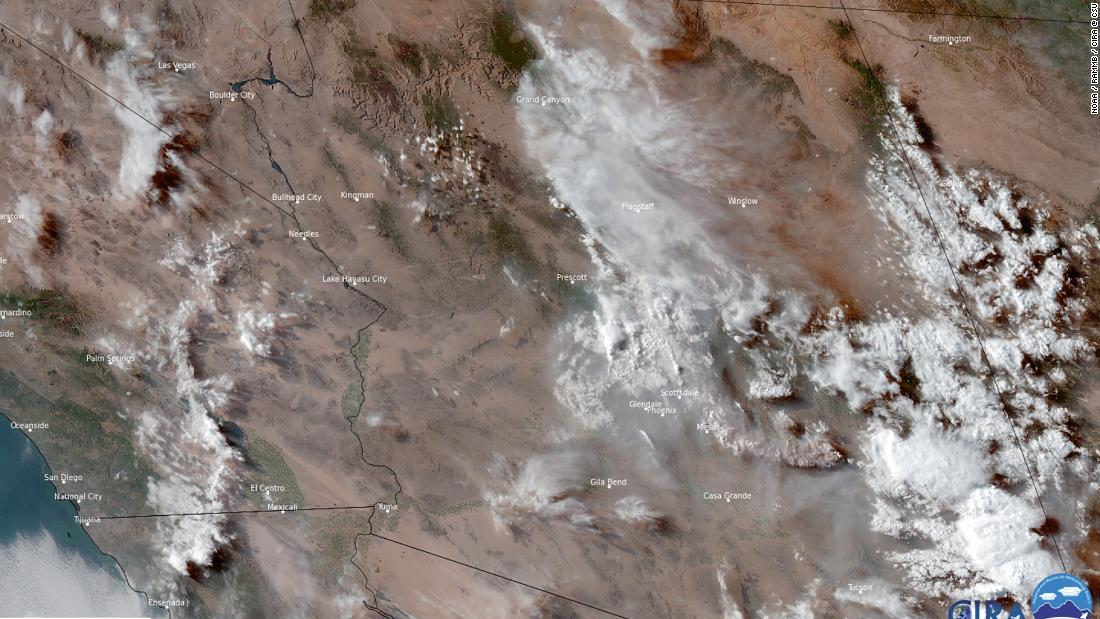 Wildfire smoke stopped Phoenix from breaking record high of 115 degrees