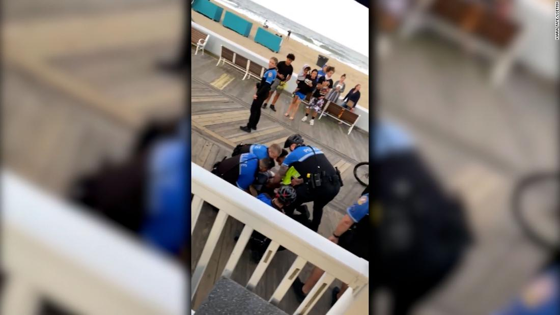 Video shows Ocean City police using force on teens while trying to enforce smoking ordinance