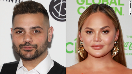 Michael Costello of 'Project Runway' says he had 'thoughts of suicide' after alleged bullying by Chrissy Teigen